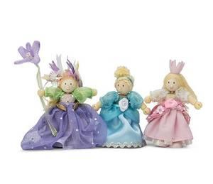 Bilde av LE TOY VAN Figurer i tre med 3 prinsesser