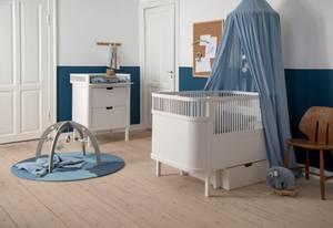 Bilde av SEBRA babyteppe Powder Blue