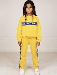 Bilde av MINI RODINI Moscow Sweatshirt Yellow