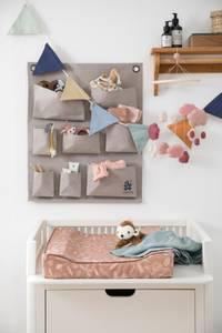 Bilde av Sebra Uro i filt - cotton candy pink