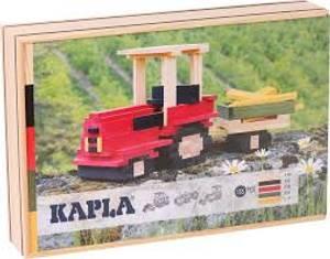 Bilde av KAPLA Traktor Case 155pcs