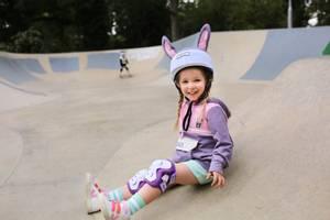 Bilde av DINOSKI Hop the Bunny Helmet Cover Purple