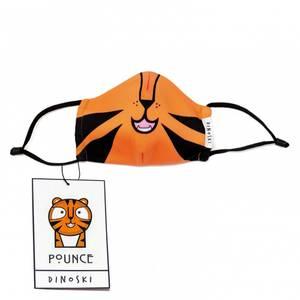 Bilde av DINOSKI Pounce the Tiger Reusable Face Mask