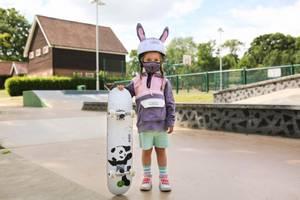 Bilde av DINOSKI Hop the Bunny Reusable Face Mask