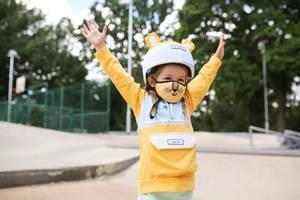 Bilde av DINOSKI Cub the Lion Reusable Face Mask