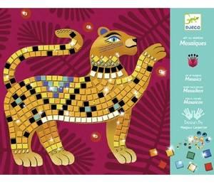 Bilde av DJECO Mosaikksett med metalliske jungeldyr