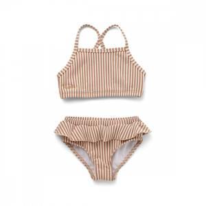 Bilde av LIEWOOD Norma bikini - Stripe tuscany rose/sandy