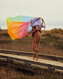 Bilde av SARAH`S SILKS Lekesilke Gigant Rainbow