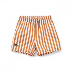 Bilde av LIEWOOD Duke badeshorts - Stripe mustard/white