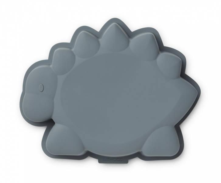 LIEWOOD Amory kakeform - Dino whale blue