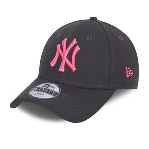 Bilde av NEW ERA 940 NY Youth - Grey/Pink