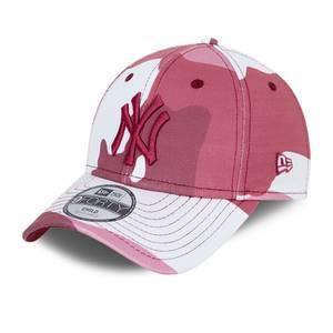 Bilde av NEW ERA 940 NY Camo Youth - Pink