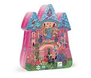 Bilde av DJECO Puslespill 54pcs The fairy castle