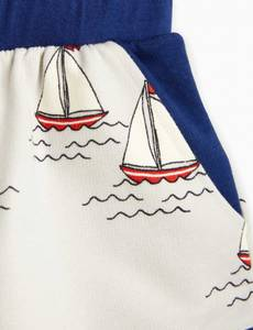 Bilde av MINI RODINI Sailing boats sweatshorts - Light