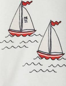 Bilde av MINI RODINI Sailing boats body - White