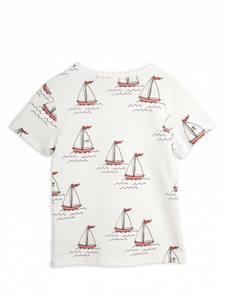 Bilde av MINI RODINI Sailing boats tee - White