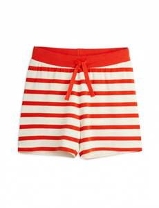 Bilde av MINI RODINI Stripe shorts - Red