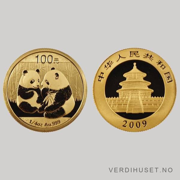 Bilde av 100 Yuan 2009 - Panda