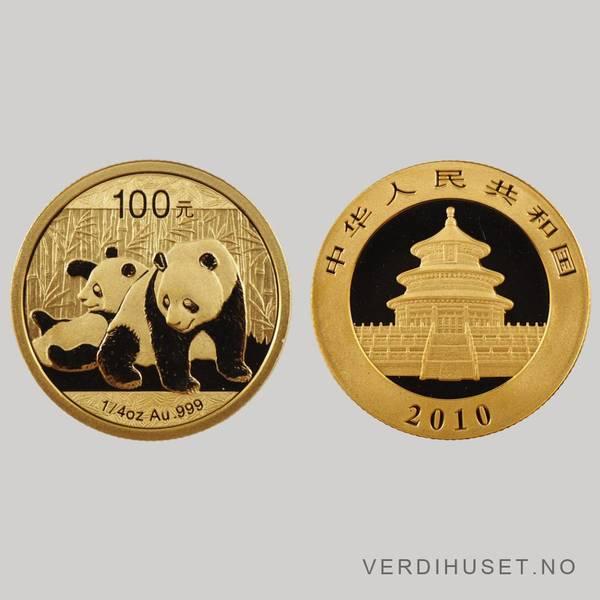 Bilde av 100 Yuan 2010 - Panda