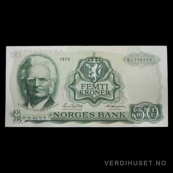 Bilde av 50 Kr 1973 E Kv g 1 (E.6338555)