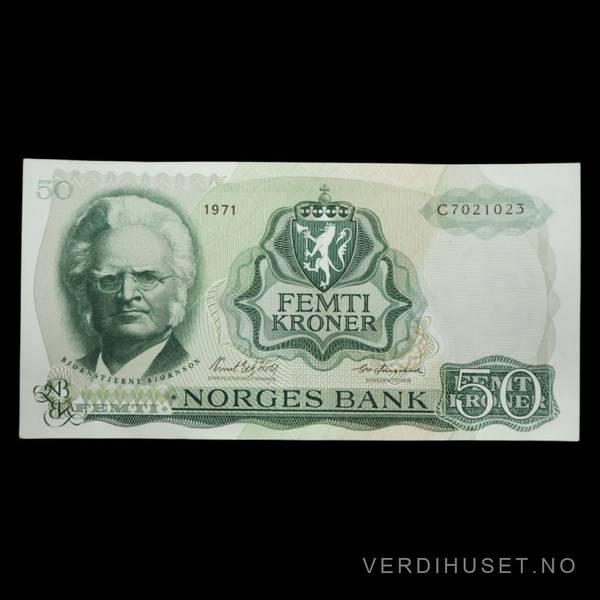 Bilde av 50 Kr 1971 C Kv 0 (C.7021023)