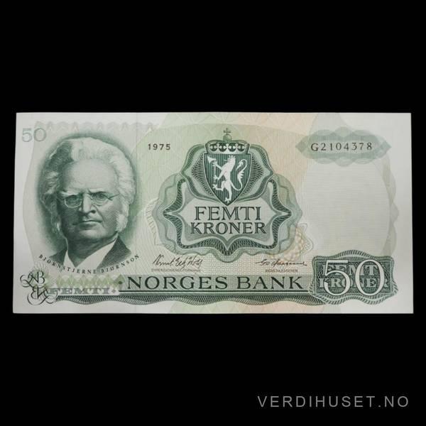 Bilde av 50 Kr 1975 G Kv 0 (G.2104378)