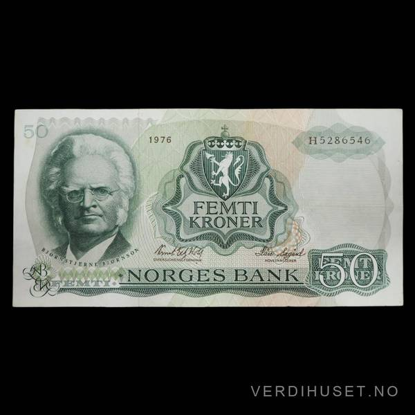 Bilde av 50 Kr 1976 H Kv 1+ (H.5286546)