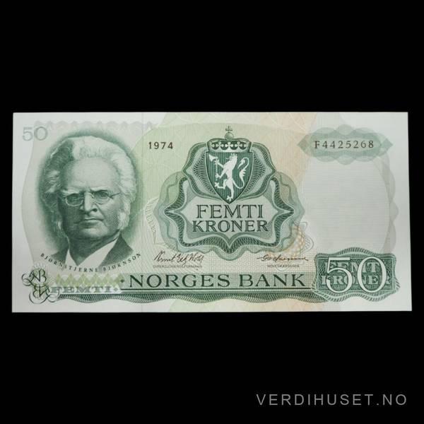 Bilde av 50 Kr 1974 F Kv 0 (F.4425268)