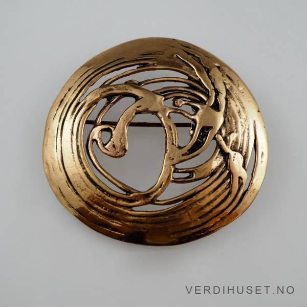 Bilde av Brosje i bronse - Eivind Hillestad