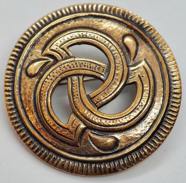 Bilde av Anheng/Brosje i bronse - Snorre-serien - Sigmund