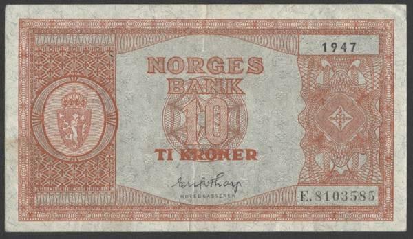 Bilde av 10 kr 1947 E Kv s01 (E.8103585)