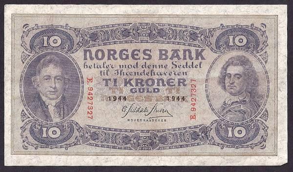 Bilde av 10 kr 1944 E Kv 01 (E.9427327)