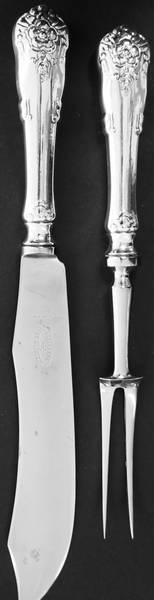 Bilde av Forskjærsbestikk - 24,5/29,5 cm - Hardanger