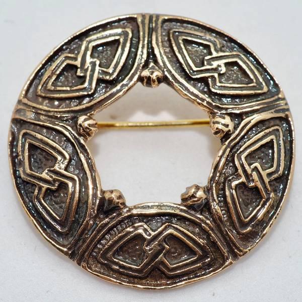 Bilde av Brosje i bronse - Astri Holthe