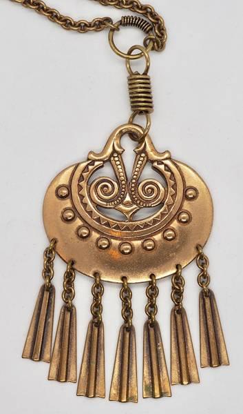 Bilde av Halssmykke i bronse - Kalevala Koru, Finland
