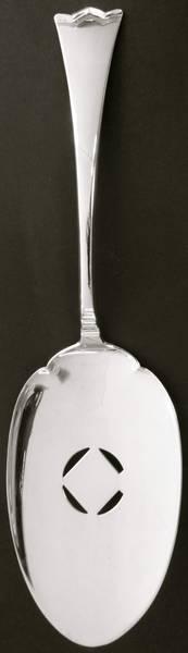 Bilde av Fiskespade, Variant I - 23,7 cm - Kronesølv