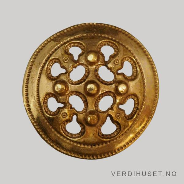 Bilde av Brosje i bronse - Kalevala Koru, Fi