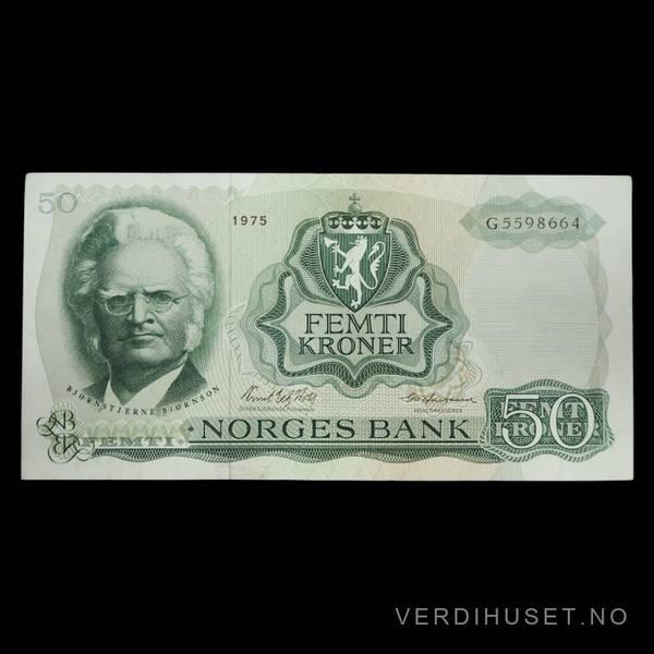 Bilde av 50 Kr 1975 G Kv 01 (G.5598664)