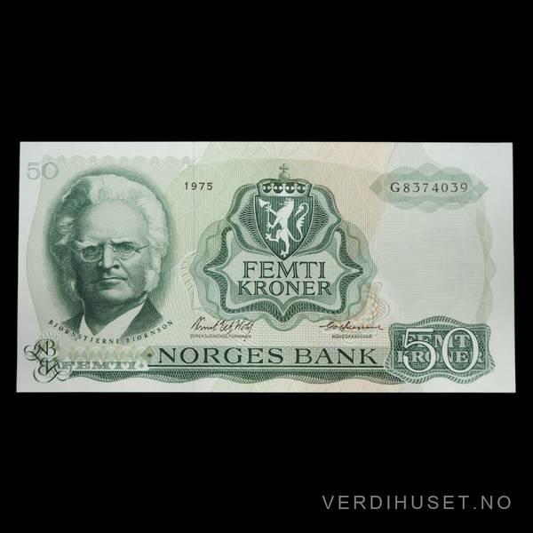 Bilde av 50 Kr 1975 G Kv 0 (G.8374039)