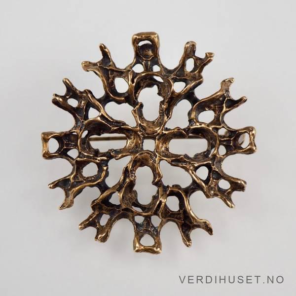 Bilde av Brosje/Anheng i bronse - Studio Else & Paul