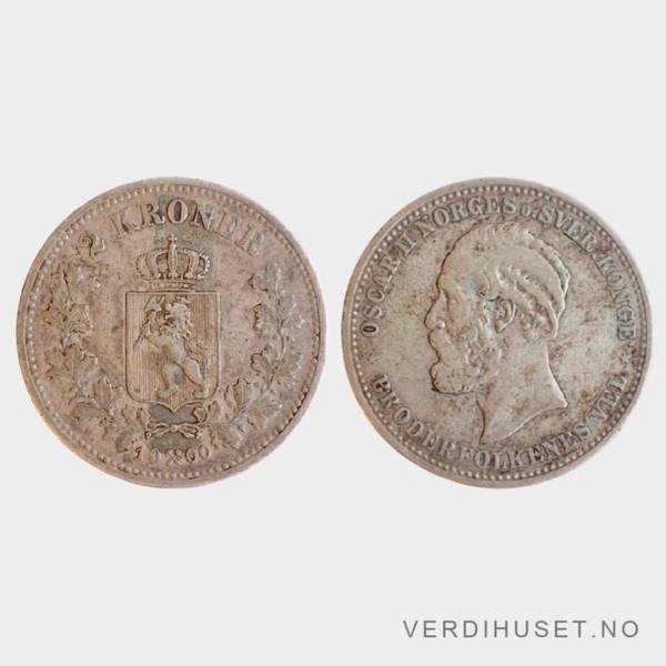 Bilde av 2 kr 1900 Kv s 1+
