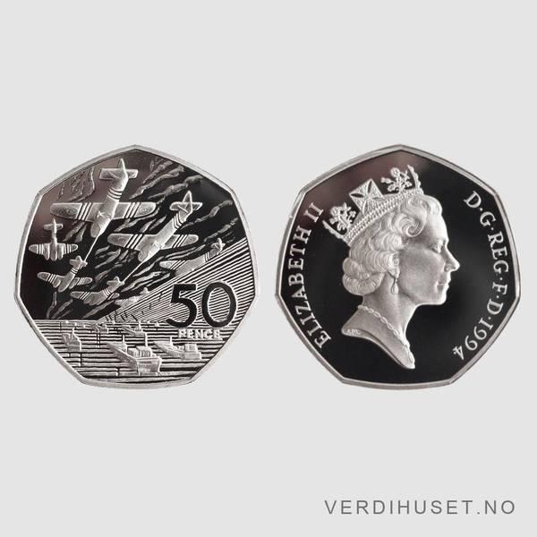 Bilde av 50 Pence 1994 - England