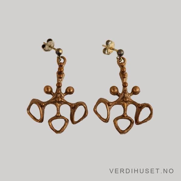 Bilde av Ørepynt i bronse - Studio Else & Paul