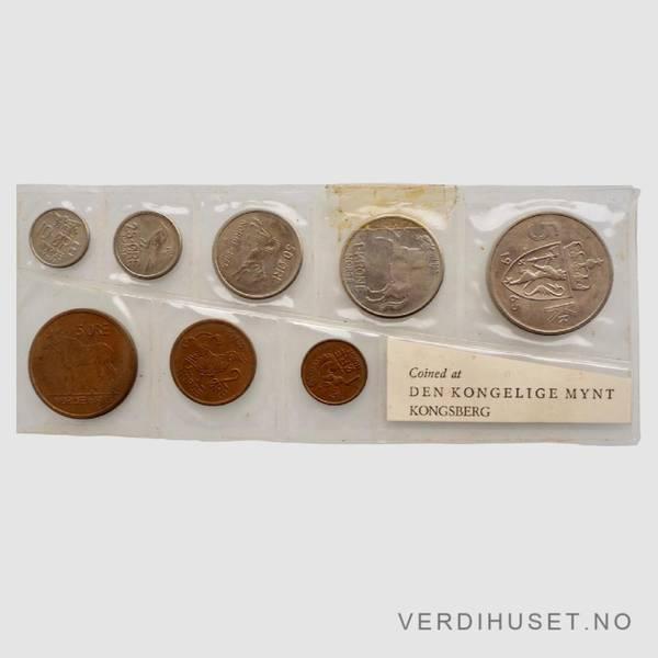 Bilde av 1965 - Årssett klassisk mykplast (skadet)