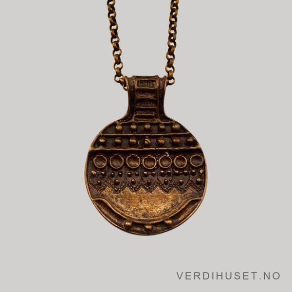 Bilde av Halssmykke i bronse - Uni David Andersen