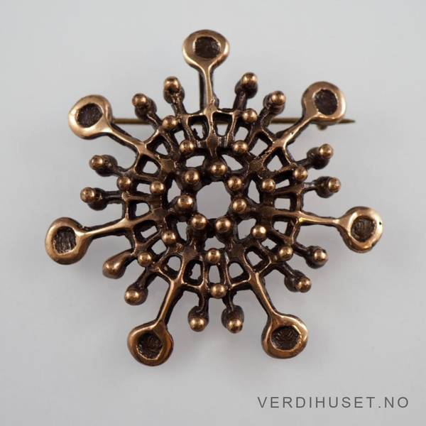 Bilde av Anheng/Brosje i bronse - Knut Paulsen