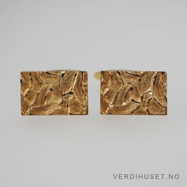 Bilde av Mansjettknapper i 14 K gull