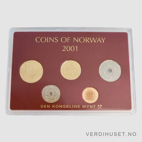 Bilde av 2001 - Årssett klassisk hardplast