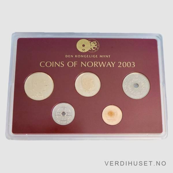Bilde av 2003 - Årssett klassisk hardplast