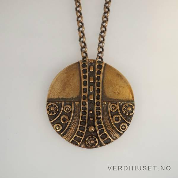Bilde av Brosje/Halssmykke i bronse - Uni D-A